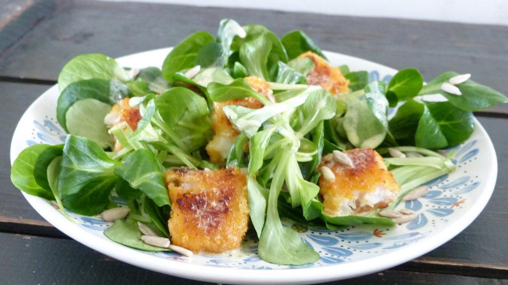 Nut Lettuce Nüsslisalat Winter Salad