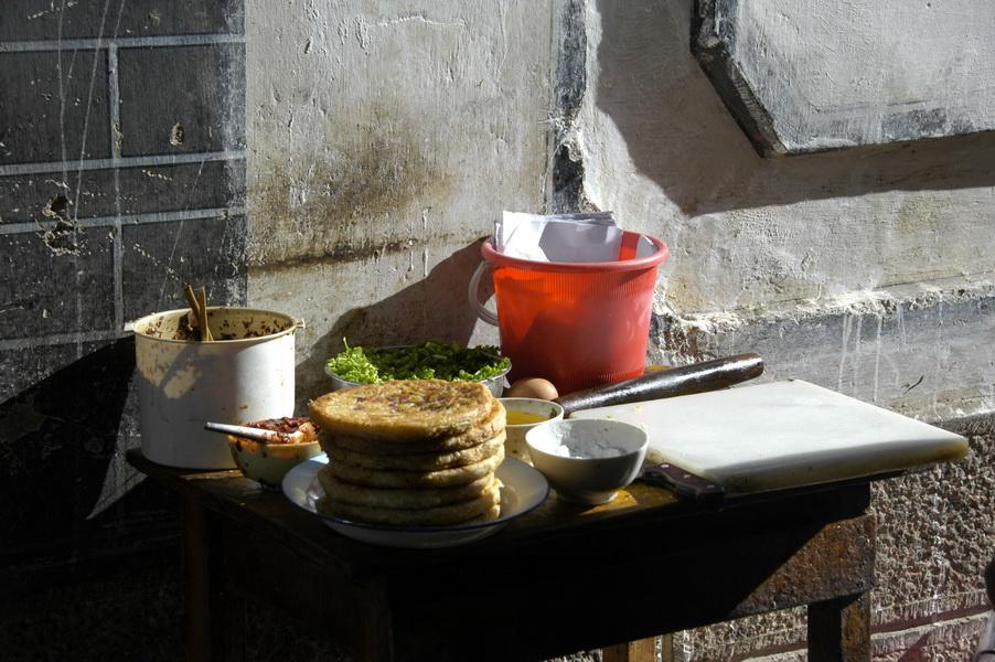Street Food Stall, Yunnan Province