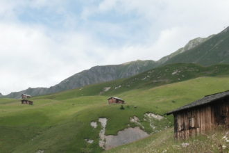 Swiss Alp Hut